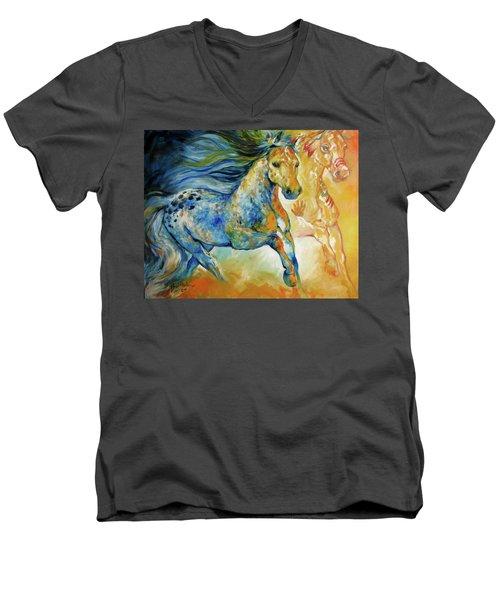 Kindred Spirits  Men's V-Neck T-Shirt