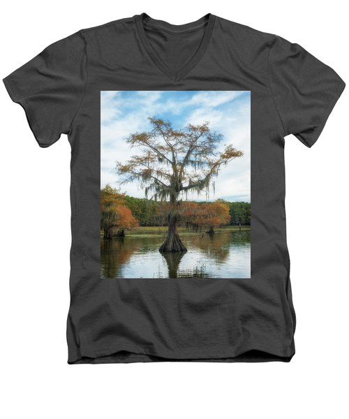 King Cypress Men's V-Neck T-Shirt