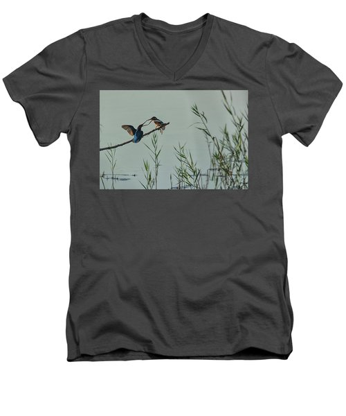 King Fishers  Men's V-Neck T-Shirt