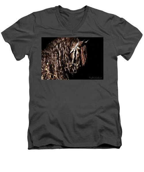 King Of Horses Men's V-Neck T-Shirt