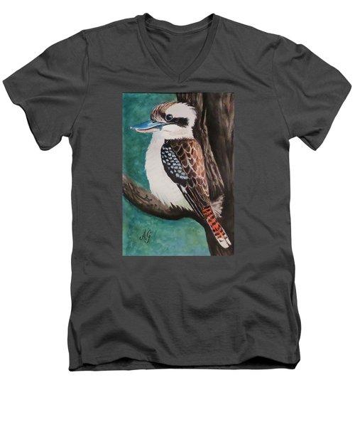 King Of The Bush Men's V-Neck T-Shirt
