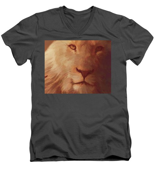 King Of The Jungle Men's V-Neck T-Shirt