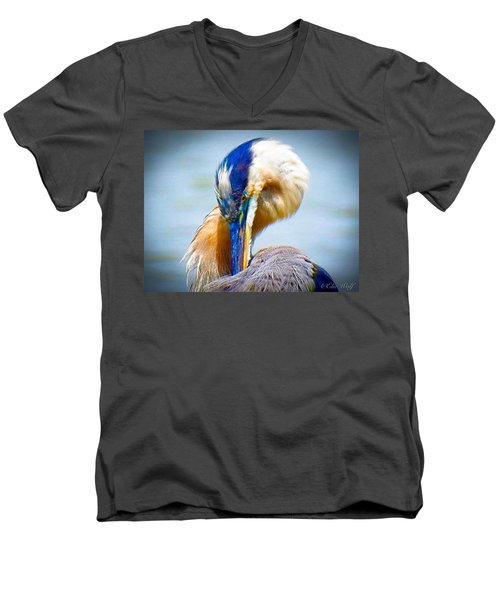 King Of The River Men's V-Neck T-Shirt