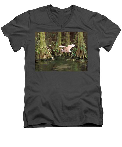 King Of The Swamp Men's V-Neck T-Shirt