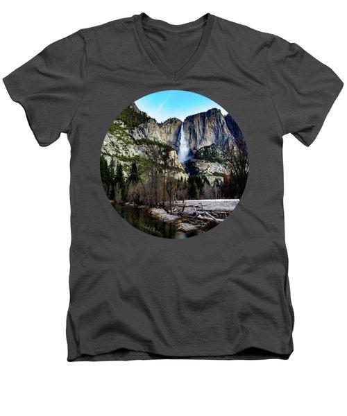 King Of Waterfalls Men's V-Neck T-Shirt