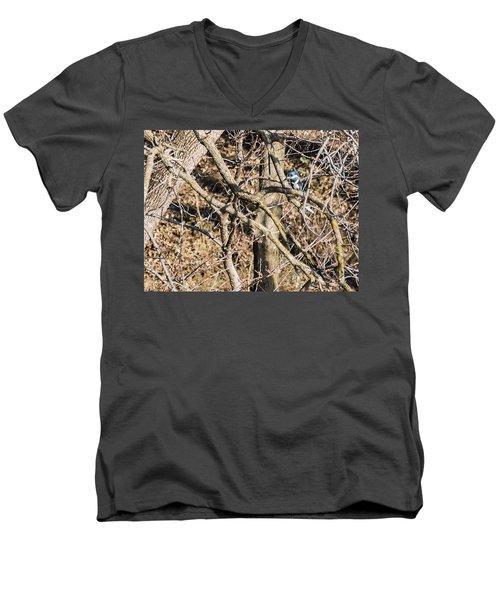 Kingfisher Hunting Men's V-Neck T-Shirt