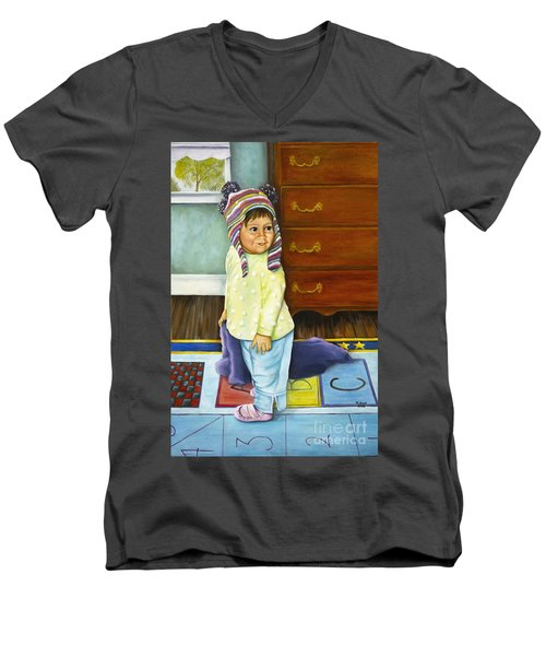 Kira Men's V-Neck T-Shirt