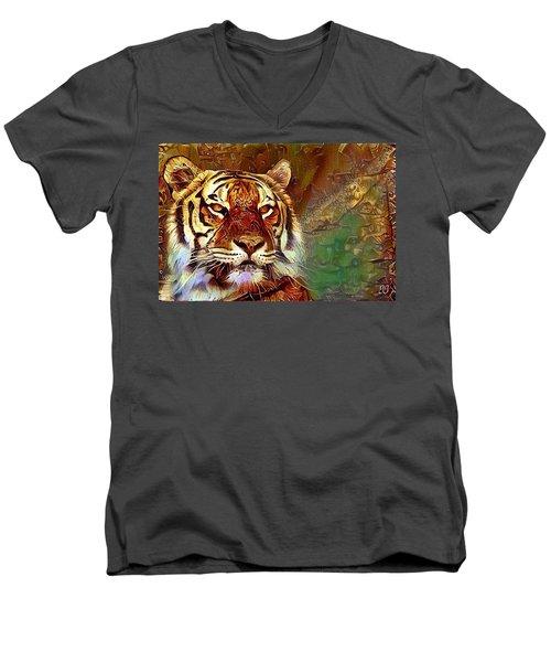 Kisa  Men's V-Neck T-Shirt
