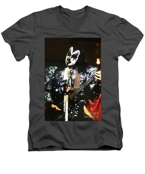 Kiss Gene Men's V-Neck T-Shirt