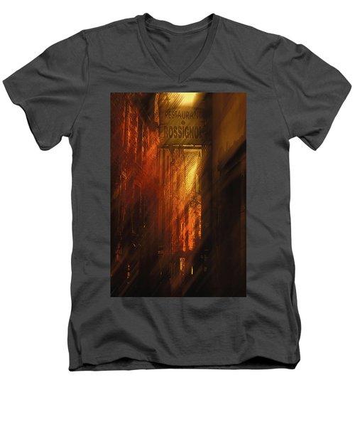 Kissed By The Sun Men's V-Neck T-Shirt