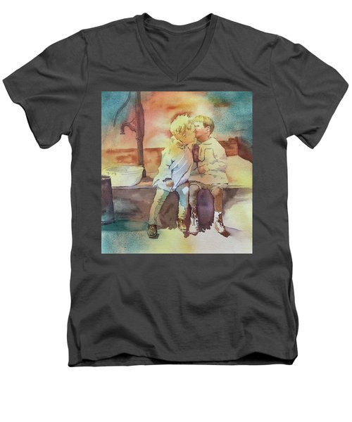 Kissing Cousins Men's V-Neck T-Shirt