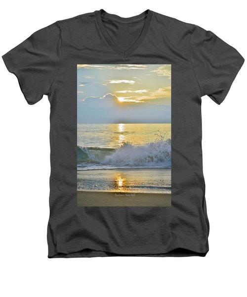 Kitty Hawk Sunrise 8/20 Men's V-Neck T-Shirt