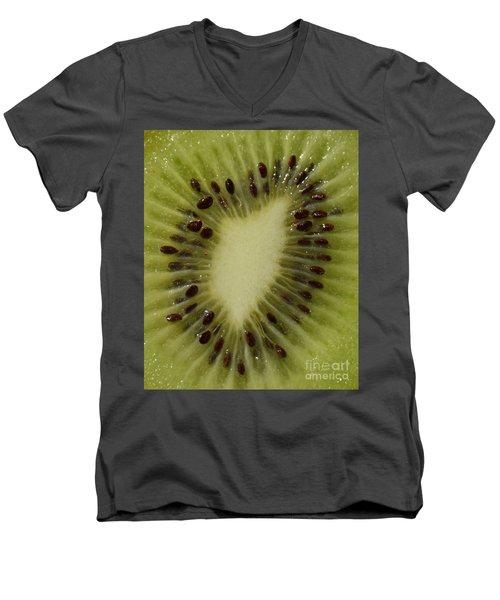 Kiwi Macro Men's V-Neck T-Shirt