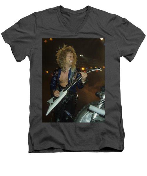 Kk Downing Of Judas Priest Men's V-Neck T-Shirt