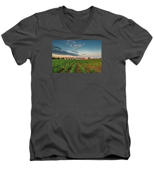 Knee High Sweet Corn Men's V-Neck T-Shirt