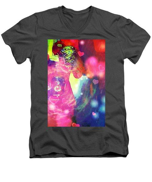 Knight In Shining Armour Men's V-Neck T-Shirt