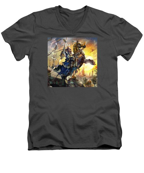 Knight Of New Benalia Men's V-Neck T-Shirt