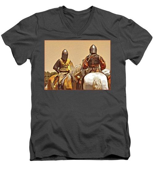 Knight's Conference Men's V-Neck T-Shirt