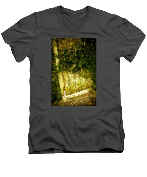 A Little Light Men's V-Neck T-Shirt