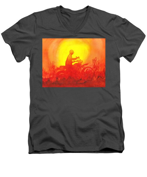 Koala Lumpur Sunset Men's V-Neck T-Shirt