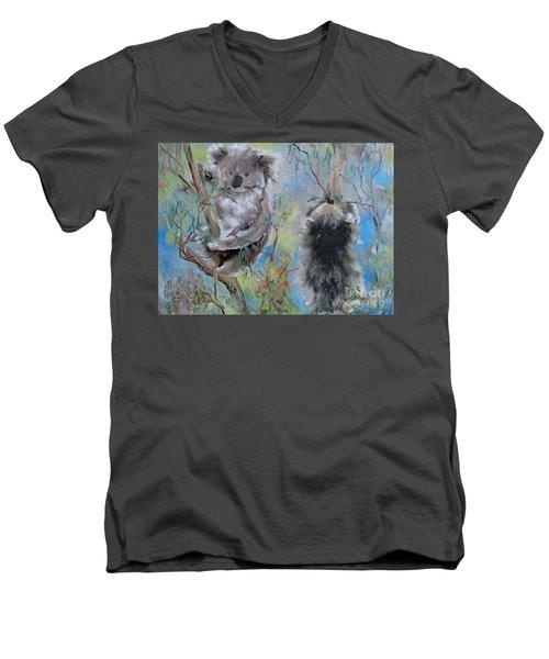 Koalas Men's V-Neck T-Shirt