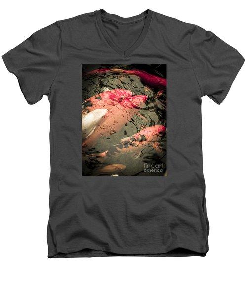 Koi Carps Men's V-Neck T-Shirt