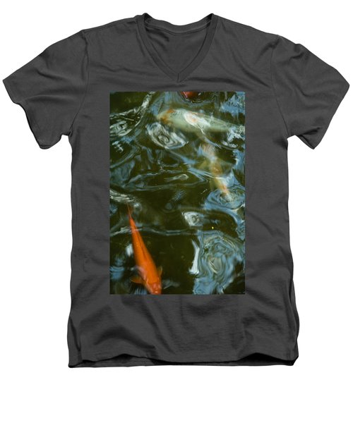 Koi II Men's V-Neck T-Shirt