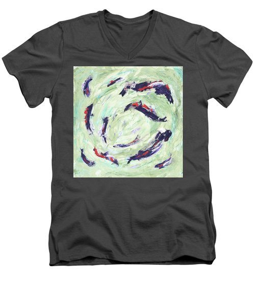 Koi Joy Men's V-Neck T-Shirt