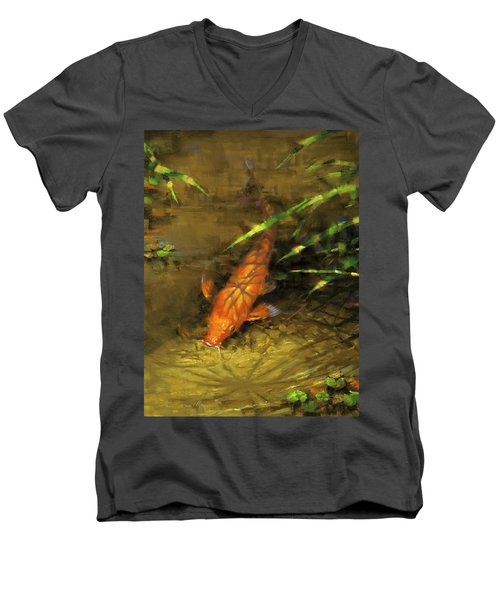Koi Men's V-Neck T-Shirt