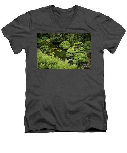 Koi Pond Men's V-Neck T-Shirt