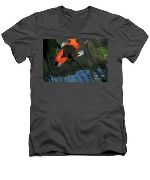 Koi Reflection Men's V-Neck T-Shirt