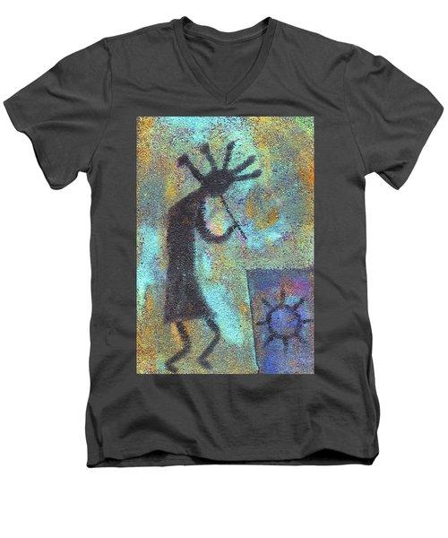 Kokopeli Men's V-Neck T-Shirt