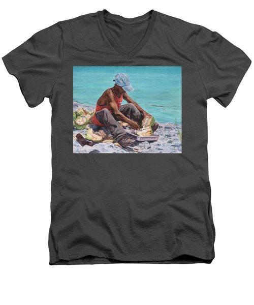 Kokoye II Men's V-Neck T-Shirt