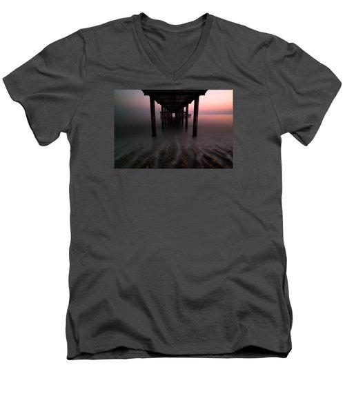 Konakli Pier Men's V-Neck T-Shirt