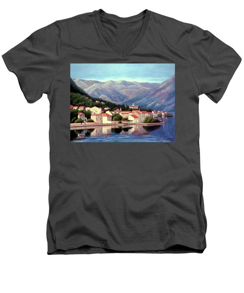 Kotor Montenegro Men's V-Neck T-Shirt