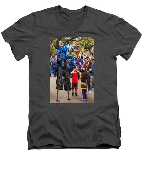 Krewe Of Thoth Greeting Men's V-Neck T-Shirt