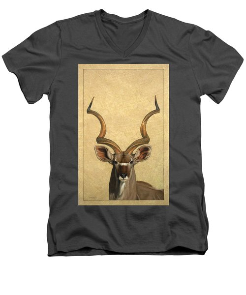 Kudu Men's V-Neck T-Shirt