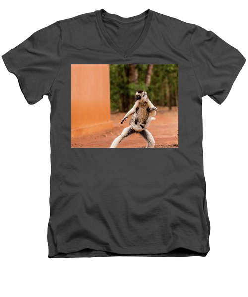 Kung Fu Mom Men's V-Neck T-Shirt