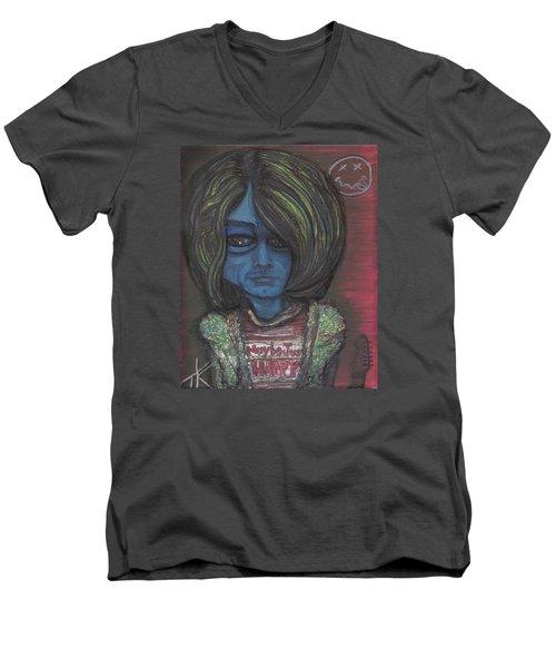 Kurt Cobalien Men's V-Neck T-Shirt