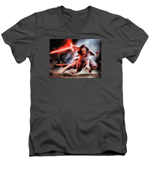 Kylo Ren I Will Fulfill Our Destiny Men's V-Neck T-Shirt