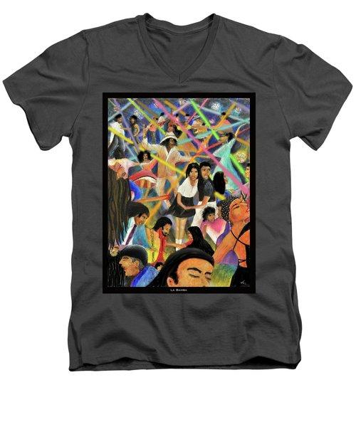 La Bamba Men's V-Neck T-Shirt