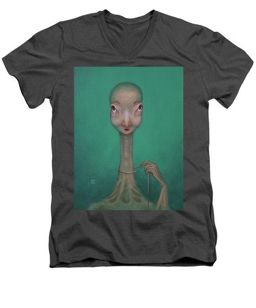 La Coquette  Men's V-Neck T-Shirt