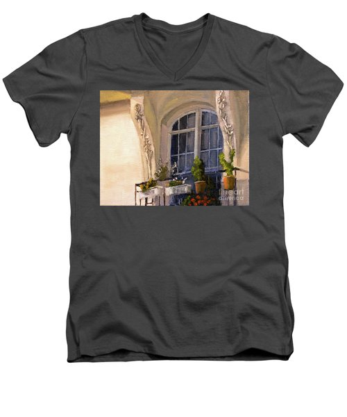 La Fenetre Men's V-Neck T-Shirt