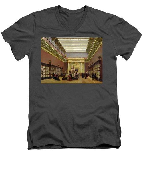 La Galerie Campana Men's V-Neck T-Shirt by Charles Giraud