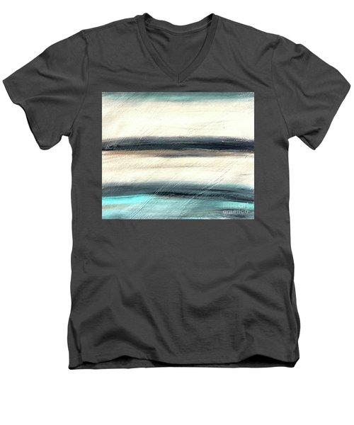 La Jolla #1 Seascape Landscape Original Fine Art Acrylic On Canvas Men's V-Neck T-Shirt