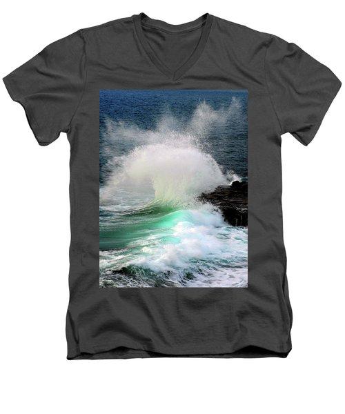 La Jolla Surge Men's V-Neck T-Shirt