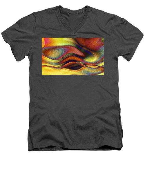 La Puesta Del Sol Men's V-Neck T-Shirt