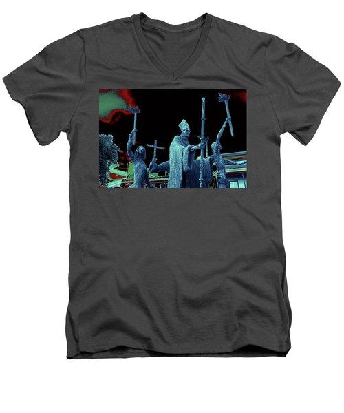 La Rogativa 2106 Men's V-Neck T-Shirt