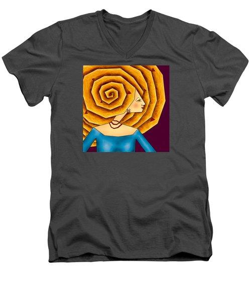 La Ruche Men's V-Neck T-Shirt
