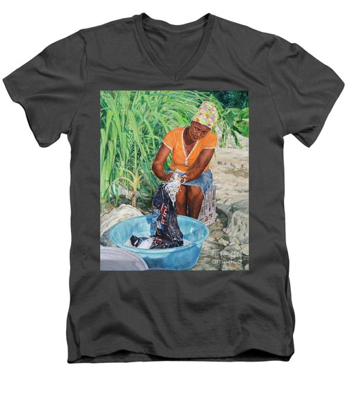 Labour Of Love Men's V-Neck T-Shirt